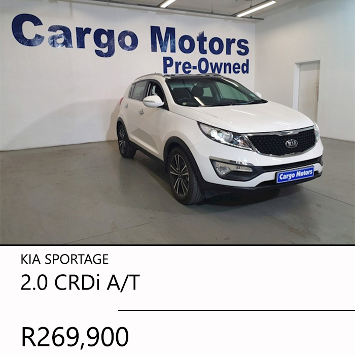 2016 KIA SPORTAGE 2.0 CRDi AT R269900